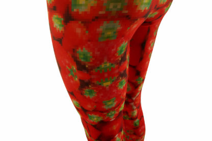 LEGGINGS STRAWBERRY-PIXEL